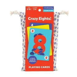 Mudpuppy Crazy Eights Playing Cards to Go