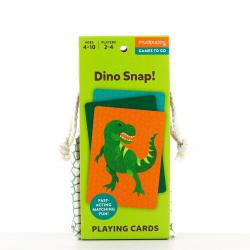 Mudpuppy Dino Snap Playing Cards to Go