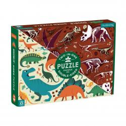 Mudpuppy Dinosaur Double-Sided Puzzle