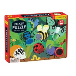Mudpuppy Fuzzy Beetles and Bugs 42pc Puzzle
