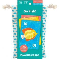 Mudpuppy Go Fish Playing Cards to Go