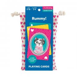 Mudpuppy Rummy Playing Cards to Go