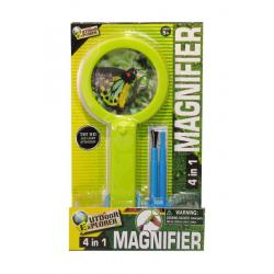 4 in 1 Magnifier with Light