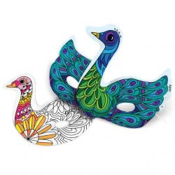 Ooly 3D Colorables Activity DIY Beautiful Bird Masks