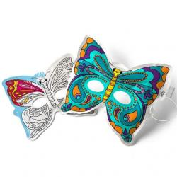 Ooly 3D Colorables Activity DIY Breezy Butterfly Masks
