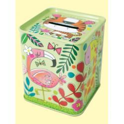 Rachel Ellen Jungle Tin Money Box - Easy Tiger