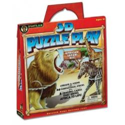 Smart Lab 3D Puzzle - African Safari Kit