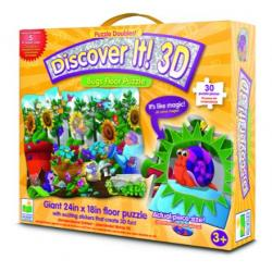 The Learning Journey Discover It 3D - Bugs Floor Puzzle