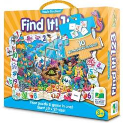 Learning Journey Find It 123 Puzzle Double