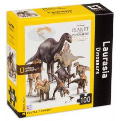 National Geographic Laurasia Dinosaurs Mini Puzzle