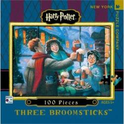 Harry Potter - Three Broomsticks 100 Piece Mini Puzzle