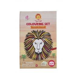 Tiger Tribe Colouring Set - Animal Allstars