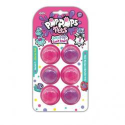 Pop Pops Pets 6 pack - Pink